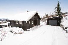 Grong skisenter - Hytte med sentral beliggenhet i feltet, ski inn / ski ut.