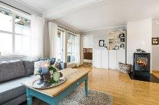 Fetsund - Oppgradert og innbydende 3-roms m/solrik og usjenert markterrasse - Barnevennlig og attraktiv beliggenhet!