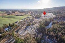RAMSTADÅSEN - NANNESTAD - 13316 m2 TOMTEFELT FOR KONSENTRERT BEBYGGELSE - SKILØYPE SOM NABO