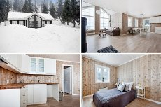 Kvitfjell: Meget attraktiv nyoppført hytte med flott utsikt! God planløsning * Fine ski og turmuligheter * 4 soverom