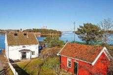 Tønsberg/Husøy - Fantastisk sjarmerende fritidsbolig med privat brygge og nærhet til sjøen - Uten boplikt!
