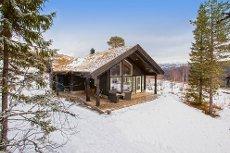 Grong Skisenter - Nyere fritidsbolig med ski inn / ski ut. 3 soverom og hems.