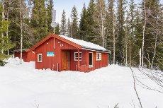 Trysil-Knuts fjellverden - Hytte med usjenert beliggenhet. Gløtt til sjøen.