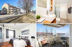 Lillestrøm: Meget attraktiv 3-roms leilighet med garasjeplass! Balkong * Avklart forkjøpsrett * Sentral beliggenhet *
