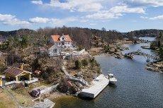 Nyere, solid landsted - Helgeroafjorden - Brevik