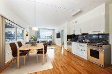 NYHET! Tomasjordnes - Stor 3-roms med walk-in-closet og flott utsikt. Heis ned til oppvarmet garasjeanlegg
