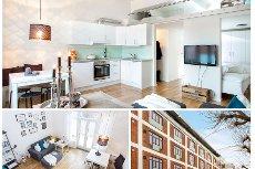 """Tønsberg/Sentrum -Trendy liten leilighet i 3 etg. med heis og fransk balkong. Urbant og med gangavstand til """"alt"""""""