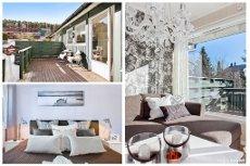 Åneby: Meget pent 2-r enderekkehus med en fantastisk intern beliggenhet - Garasje - Flott solfylt uteplass/hage