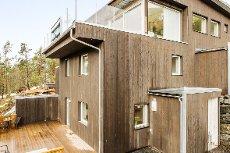 Moderne 4-roms leilegheit med stor terrasse.