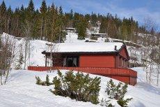 Breivann, Mattiaskilen - Velholdt og koselig hytte solrikt beliggende