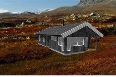 GOLSFJELLET/TUNNETJERN - Prosjektert hytte med 3 soverom Flott utsikt og gode solforhold.