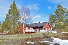 Fyresdal - Våmur hyttefelt - Koselig hytte med gode sol og utsiktsforhold - Bilvei, innlagt strøm og vann til hyttevegg.