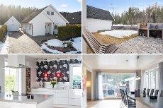 KONGSVINGER/LIA - VISNING TIRS 21/4 KL 18-19 - Enebolig - moderne stil - barnevennlig - usjenert terrasse mot friareal