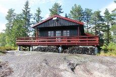 NY PRIS! Mosfjell - Velholdt og koselig hytte i rolige og naturskjønne omgivelser
