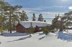 Budor - Solid og moderne hytte med flott utsikt. 4 soverom og 2 bad.