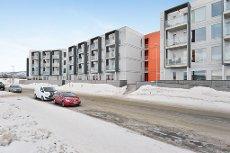 Nyhet! Tomasjord - Flott 2-roms i 3-etasje med gunstig Husbankfinansiering og heis i bygget - Strøm inkl