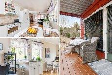 MAURA - Flott 3-roms beliggende i Holkebylia med god utsikt!