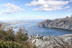 Flott fritidseiendom med panoramautsikt - 2 båtplasser og 3 biloppstillingsplasser