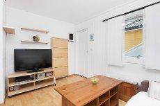 LAKSEVÅG - Flott 1-roms eierleilighet med kort avstand til Bergen sentrum. Lave fellesutgifter