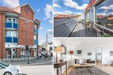 STRØMMEN - Stor 3- roms leilighet sentralt på Strømmen. Toppetasje med stor, usjenert og solrik veranda. *Heis *Garasje