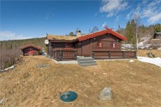 Tuddal - Gvålsheia Flott hytte med utsikt mot Toskjærvatnet og fjellene rundt