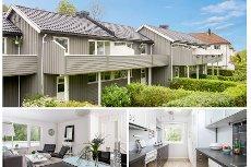 Nøtterøy/Bryggerijordet - Koselig rekkehus i barnevennlige omgivelser - 3 soverom - Solrike uteplasser - Garasje