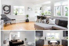 Nøtterøy/ Teie - Meget innbydende og koselig innredet leilighet i rolig og attraktivt boligstrøk