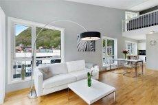 LANDÅS - Flott toppleilighet med hems, heis og 9 kvm. solrik balkong