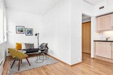 DANMARKS PLASS - Meget pen og arealeffektiv studioleil. med gangavstand til sentrum. Nær bybane og butikk.
