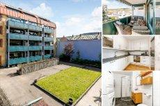 STRØMSØ SENTRALT- attraktiv nyoppusset 4-roms leilighet med vestvendt og solrik balkong! Heis og garasje.