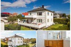 Tønsberg/Træleborg - Lys, lettstelt og attraktivt beliggende selveierleilighet med stor terrasse. Garasje.