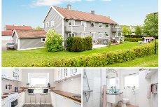 Tønsberg/ Træleborg - Lys, delikat og smart leilighet i 2. etg med bl.a 2 soverom og masse bodplass
