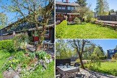 Kjeller: Enderekkehus med sentral og barnevennlig beliggenhet! -Garasje -Gode solforhold -Flott opparbeidet hage