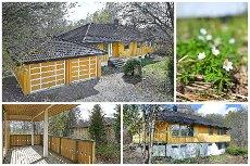 VISNING - Grini - Enebolig med fin beliggenhet i bindvei og grensende til friareal - Dobbel garasje - Oppussingsbehov