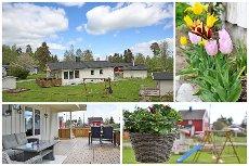 VISNING - Grini - Enebolig med garasje - kjeller med egen inngang, kjøkken, bad, allrom og soverom - mye påkostninger