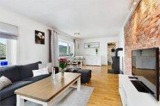 LAKSEVÅG - Fin 3-roms eierleilighet med flott utsikt mot Byfjorden og Nordnes