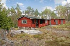 Velholdt hytte på fin tomt. Kort vei til badevann. Brønntjern hyttefelt/Kornsjø.