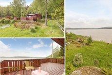 RÆLINGEN - Iidyllisk og sentralt beliggende hytte - Gode solforhold og fantastisk utsikt - Bør ses!! Stor og solrik tomt! - Beliggende ved Øyerm med bade og fiskemuligheter.