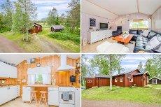LJØRDALEN - Koselig og innholdsrik hytte med anneks i fint friluftsområde