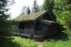 Nordli, Holand - hytte med 2 soverom og hems i Øybekken hyttefelt