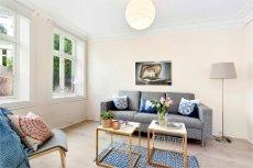 SENTRUM - Flott 3-roms leilighet like ved idyllisk gatetun