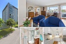 Lillestrøm: Meget tiltalende 3(2)-r leilighet med innglasset balkong.Totaloppusset 2010 *P-plass *V.v/ fyring inkl *Heis