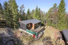 Ny pris! Glennetangen - Skiptvet - Skogtun - En Idyllisk innlandshytte med flott naturtomt!