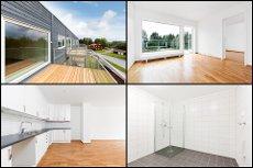 Aurskog - Ny, pen 3-roms toppleilighet med sørvendt terrasse - Parkering i garasje og heisadkomst - Lave omk.!
