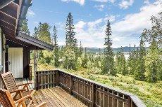 Håen i Melhus kommune - Sjarmerende fjellhytte med 3 soverom