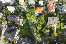 Ubebygget tomt på Laksevåg med flott beliggenhet - fantastiske sol- og utsiktsforhold - sentrumsnær