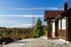 GOLSFJELLET/HJARTINGSTØLEN - Nyoppført hytte med fin beliggenhet og utsikt.