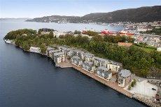 Georgernes Verft - En flott leilighet i fremste rekke, sol og panoramautsikt, utmerket planløsning.