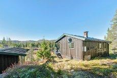 Vegglifjell - Elehovda - Hytte på eiertomt med solrik bel. og fantastisk utsikt.