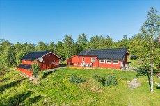 VISNING 5/12 - Meget godt vedlikeholdt hytte med særdeles gode solforhold, og en flott utsikt mot Olavsgruva